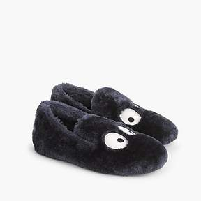 J.Crew Boys' Max the Monster furry slippers