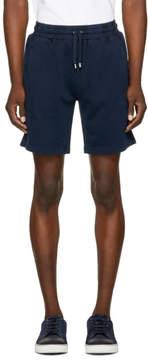 Burberry Navy Hestford Shorts