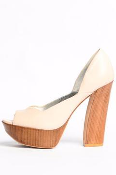 Pelle Moda Amelia Cream Heel