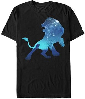 Fifth Sun Lion King Black Night Sky Simba Tee - Men