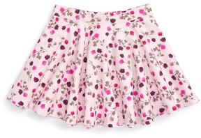 Kate Spade floral print circle skirt (Toddler & Little Girls)