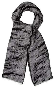 Rag & Bone Patterned Knit Scarf