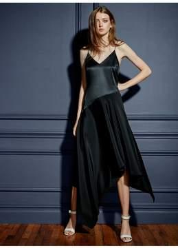 Fleur Du Mal | Handkerchief Dress With Buckle | L | Black