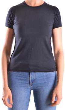 Aquascutum London Women's Blue Cotton T-shirt.