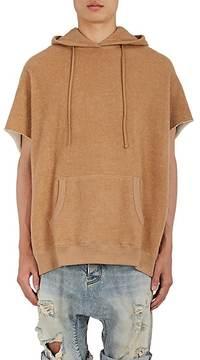 R 13 Men's Cutoff Cotton-Blend Sweatshirt