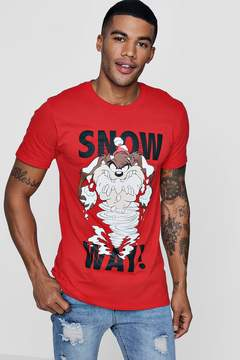 boohoo Snow Way Looney Tunes License T-Shirt