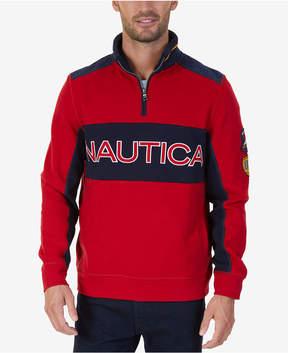 Nautica Men's Signature Quarter-Zip Sweatshirt