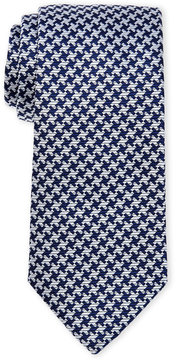 Altea Houndstooth Silk Tie
