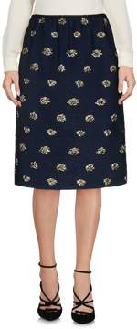 Odeeh Knee length skirts