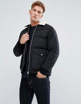 Bellfield Padded Jacket with Fleece Collar