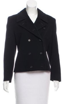 Calvin Klein Collection Double-Breasted Cashmere Jacket