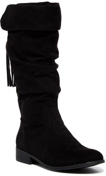 Steve Madden Patra Foldover Boot (Little Kid & Big Kid)