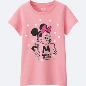 Uniqlo Girl's Disney Collection Short Sleeve Graphic T-Shirt