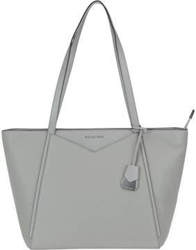 Michael Kors Large Whitney Bag - PEARL GREY - STYLE