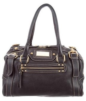 Dolce & Gabbana Grained Leather Bag - BLACK - STYLE