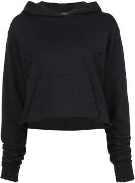 Amiri distressed hoodie