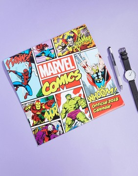 Books Marvel Comics 2018 Calendar