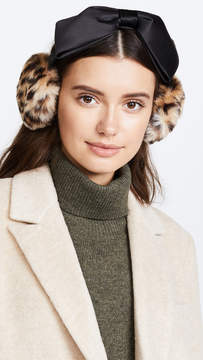 Kate Spade Leopard Bow Earmuffs