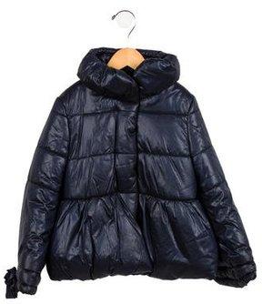 MonnaLisa Girls' Long Sleeve Down Coat