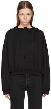 Balenciaga Black Multiple Drawstring Hoodie