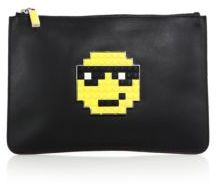 Les Petits Joueurs Boss Small Leather Clutch
