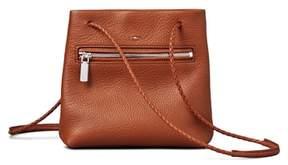 Shinola Mini Pebbled Leather Drawstring Crossbody Bag