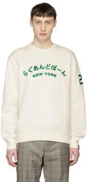 Rag & Bone Ivory Japan Sweatshirt