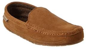 BearPaw Men's Peeta Suede & Wool Slipper.