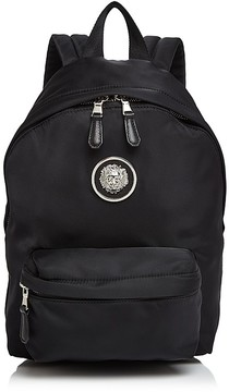 Versus Versace Lion's Head Small Nylon Backpack