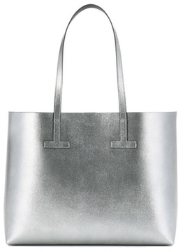 Tom Ford Metallic leather shopper