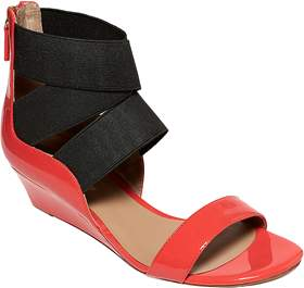 Delman Catch Low Wedge Sandal.