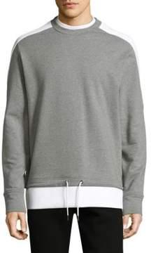 Diesel Black Gold Mock Layered Sweater