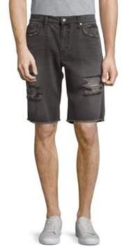 Joe's Jeans Elliot Cut-Off Cotton Shorts