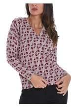 Altea Women's Pink Wool Sweater.