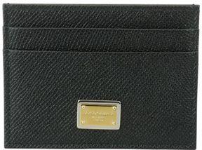 Dolce & Gabbana Credit Card Holder - BLACK - STYLE