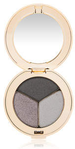 Jane Iredale PurePressed Eye Shadow Triple - Silver Lining - shimmery heather plum moonstone blue and matte p