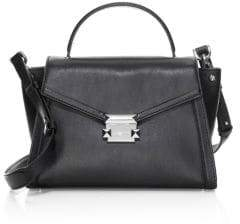 MICHAEL Michael Kors Medium Whitney Leather Satchel