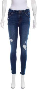 DL1961 Mid-Rise Distressed Jeans