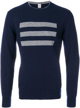 Eleventy cashmere 3 bars sweater