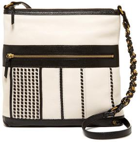 Elliott Lucca Gini Flat Leather Crossbody Bag
