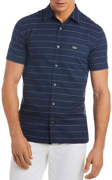 Lacoste Striped Regular Fit Button-Down Shirt