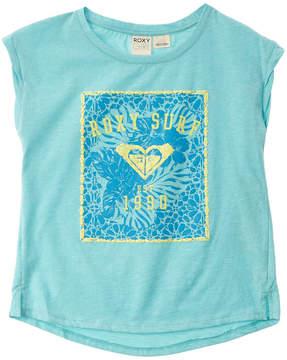 Roxy Girls' Blue Marrakesh T-Shirt