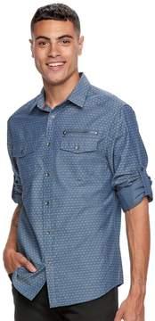 Rock & Republic Big & Tall Dobby Button-Down Shirt
