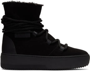 Giuseppe Zanotti Black Allen High-Top Sneakers