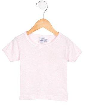 Petit Bateau Girls' Short Sleeve Jersey Knit Top