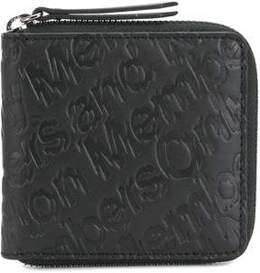 Stella McCartney Members Only embossed wallet