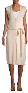 Escada Sport Tie-Waist Knee-Length Dress
