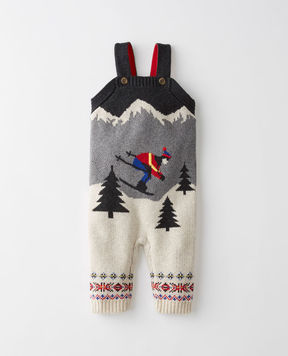 Hanna Andersson Skiers Sweater Overalls In Cotton & Merino