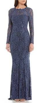 Decode 1.8 Lace Keyhole Back Gown