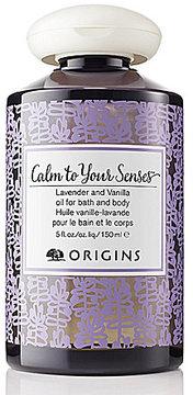 Origins Calm to Your Senses Lavender & Vanilla Oil for Bath & Body